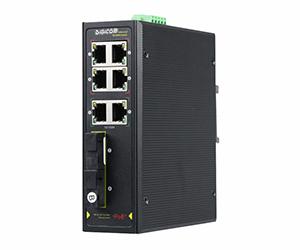 DG-IPS31084PF - Неуправляемый 8-ми портовый коммутатор с PoE: 4 x 10/100M порта RJ45 c PoE,  2x 1 ..
