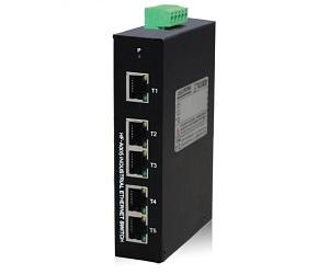DG-IES-A005 - Неуправляемый 5-ти портовый коммутатор на DIN-Rail