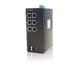 DG-IES-2008M - Управляемый 8-ми портовый коммутатор L2: 6 10/100TX c RJ45+2 10/100MFX MM/SM c SC/ST/FC