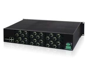 DG-IES-EN3528M - Защищенный 28-ми портовый управляемый коммутатор L3: 24GE c M12+4G комбо-порта c SFP/RJ45, IP40