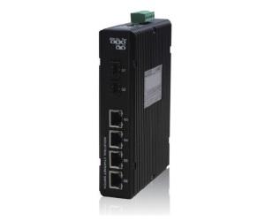 DG-IES-2506MP - Компактный управляемый гигабитный коммутатор L2 6 портов с PoE: 4GE RJ45 с PoE + 2GX c SFP