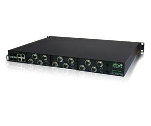 DG-IES-EN3516M - Защищенный 16-ти портовый управляемый коммутатор L3: 12GE c M12 + 4G комбо-порта c SFP/RJ45, IP40