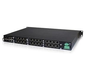 DG-IES-3528MR - Управляемый модульный коммутатор L3 28 портов: 4 Gigabit Combo + 24 1000M