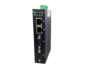 DG-INS-1000-2023D - 2-портовый асинхронный сервер RS-232/422/485 в Ethernet: 2 RS232/422/485 +2 10/100Base RJ45