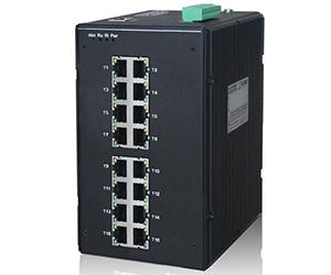 DG-IES-3016M - Управляемый промышленный коммутатор L3: 4 x 10/100/1000M с SFP + 12 x 10/100M TX с RJ45