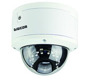 DG-NC204DH AF - 4MP H.265 купольная антивандальная IP камера с ИК до 20м, PoE, моторизованный объектив, автофокус