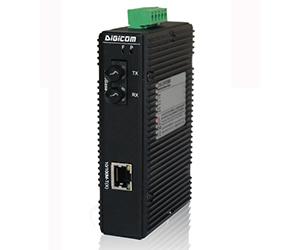 DG-IMC-1002 - Медиаконвертер промышленный 1 x 10/100M с RJ45 + 1 x 100M (одномод)