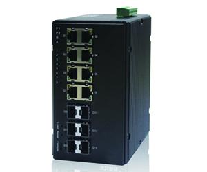 DG-IES-4514M - Управляемый 14-ти портовый коммутатор L2: 6 x 1GB SFP + 8 x 1GB RJ45