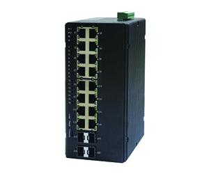 DG-IES-4220M - Управляемый 20-ти портовый коммутатор L2: 4 x 1GB SFP + 16x10/100Base-T(X) RJ45