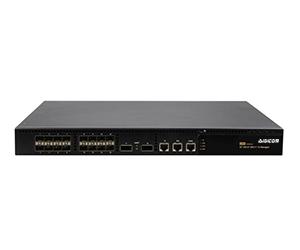 DG-66018M - Управляемый коммутатор L2, 16 портов 10G(SFP+) + 2 порта 40G(QSFP+)
