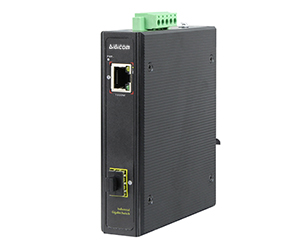 DG- IPS33021F - Неуправляемый 2-х портовый гигабитный коммутатор: 1x 10/100/1000M порт RJ45 и 1x 1000M SFP слот