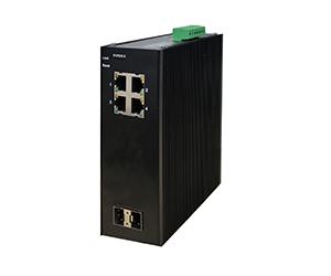 DG-IES-2506M - Управляемый 6-ти портовый коммутатор L2: 2x100/1000M SFP слота + 4х10/100/1000M портов с RJ45