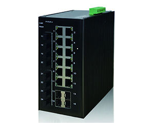 DG-IES-2524M - Управляемый 24-x портовый коммутатор L2: 12x100/1000M SFP слота + 12х10/100/1000M портов RJ45